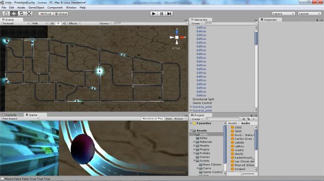 Prototipo jugable con refinamiento de los puntos de inicio y las licorerias, audio implementado